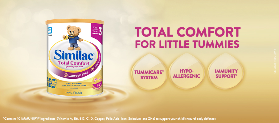 Similac Total Comfort for toddler tummy troubles